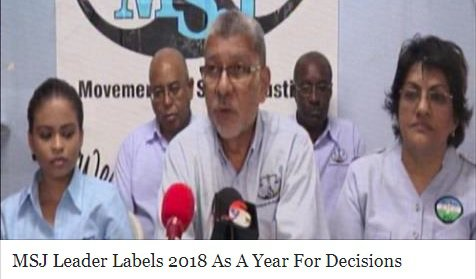 2018 year of decisions